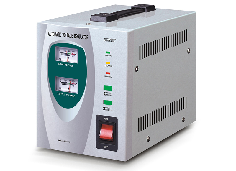 Electronic automatic voltage regulator