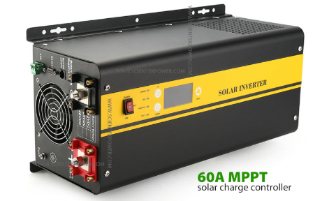 Low frequency power inverter