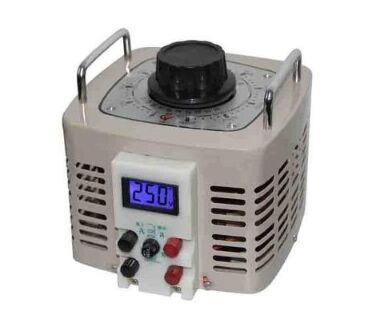 Compound regulating contact voltage regulator
