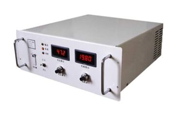 Application of steady current power supply