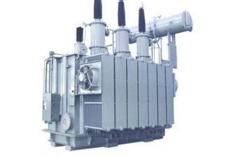 Installation method of outdoor power transformer