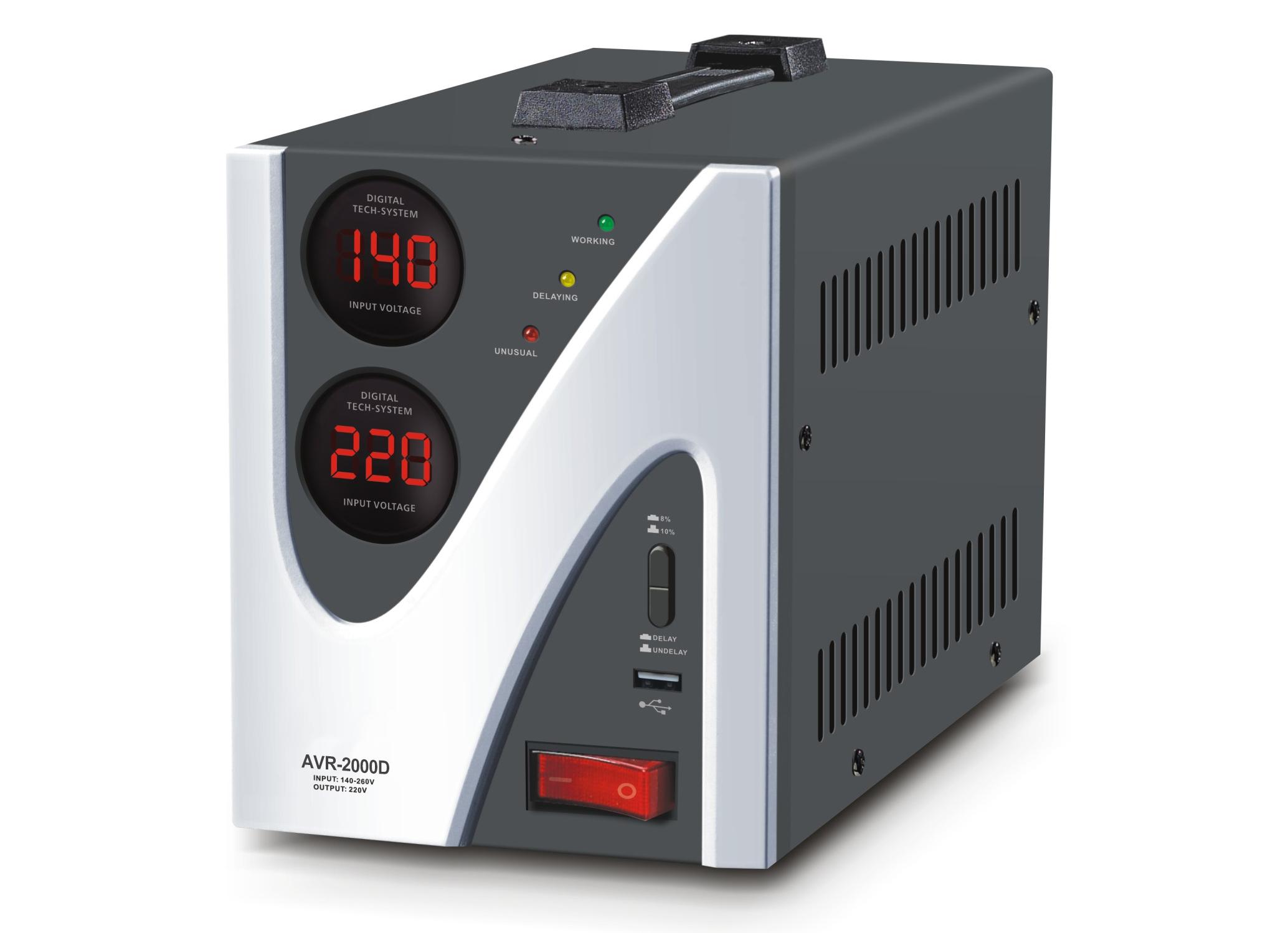 Relay type Automatic Voltage regulator AVR-D Series