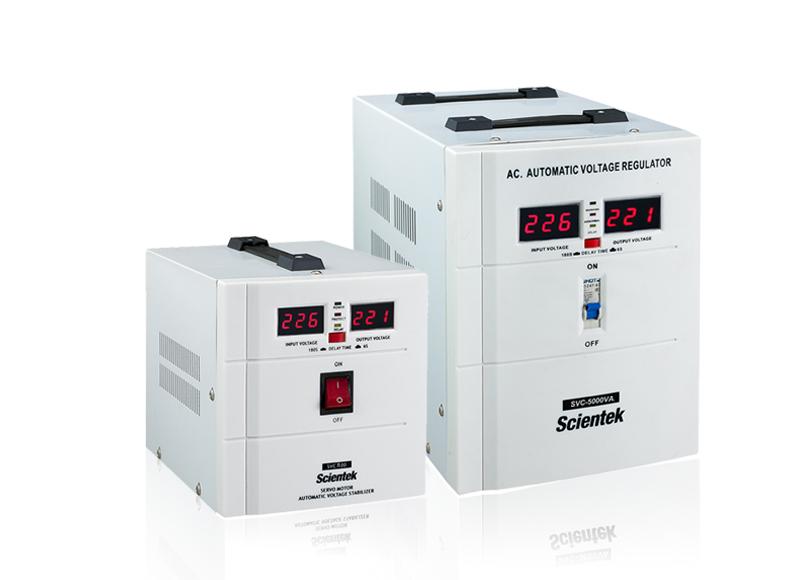 Servo motor Automatic Voltage Regulator SVC Series