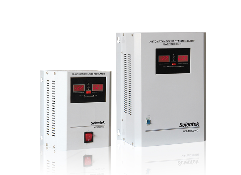 Wall Mount Relay type Automatic Voltage Regulator AVR-WR Series