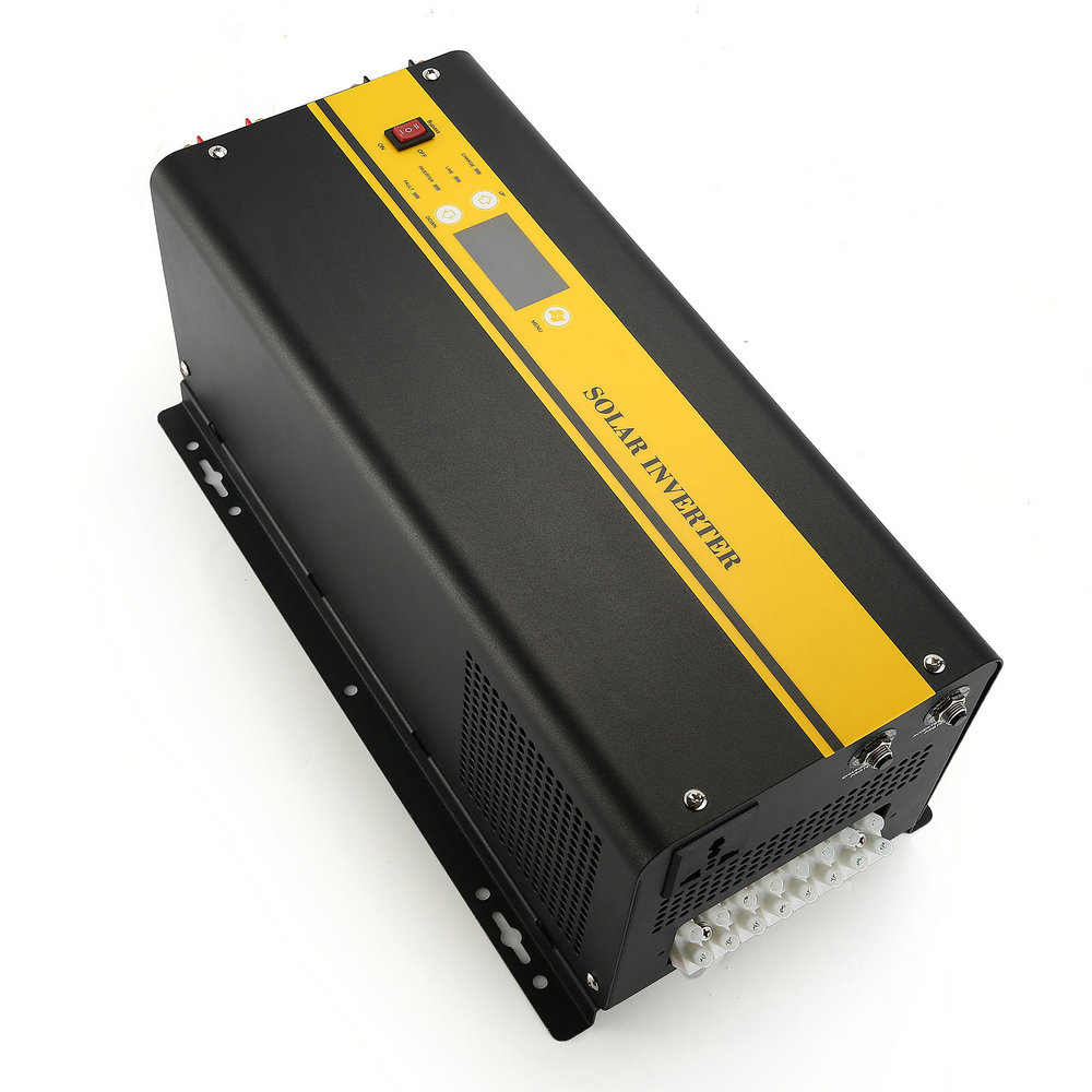 Low frequency DC to AC solar inverter with MPPT charger TPS series