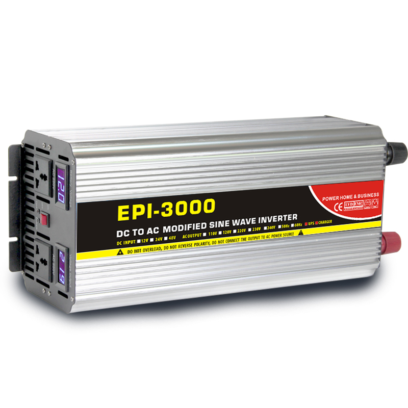 Modified sine wave power inverter charger EPI series