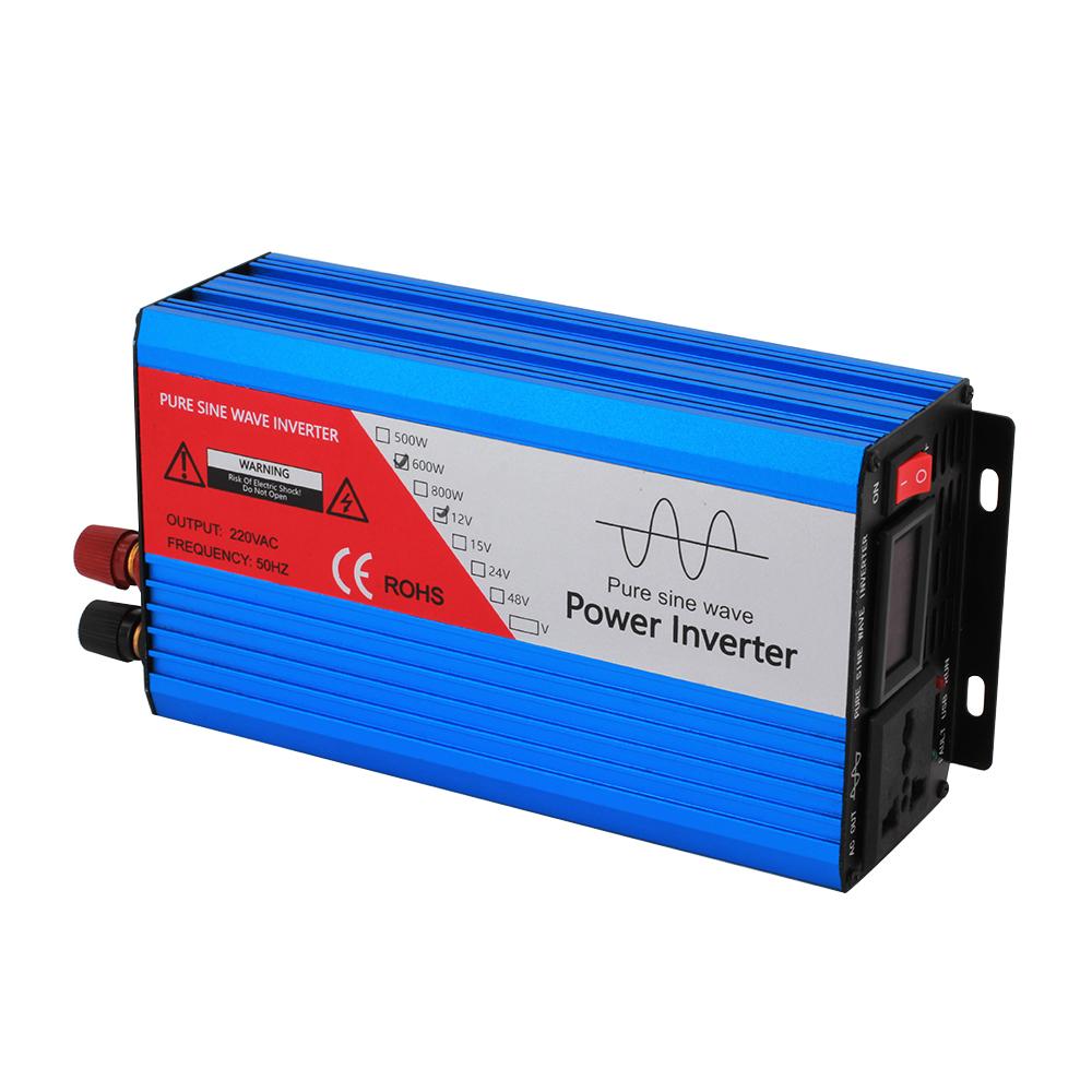500W/600W pure sine wave power inverter
