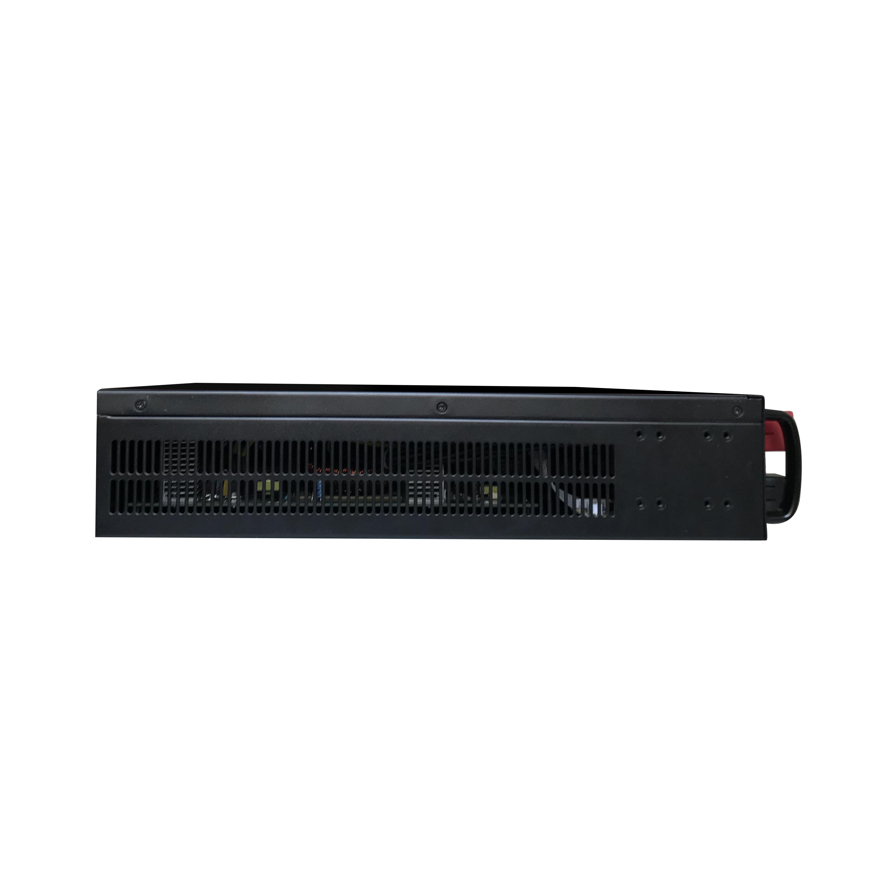 4KVA 5KVA 6KVA 2U 48VDC to 220VAC 19'Rack mount inverter charger